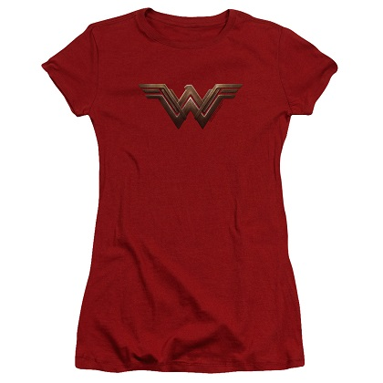 Wonder Woman Movie Logo Women's Tshirt