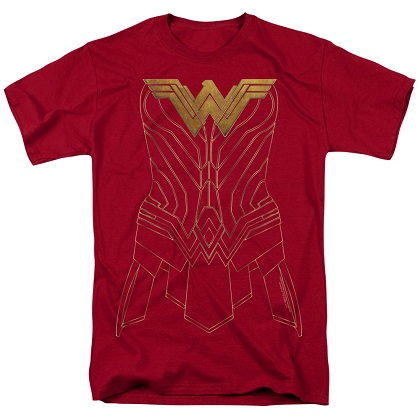 Wonder Woman Armor Costume Tshirt