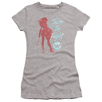 Wonder Woman Join The Fight Women's Tshirt