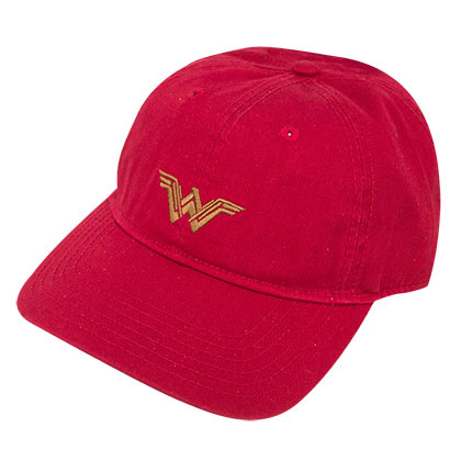 Wonder Woman Adjustable Red Dad Hat