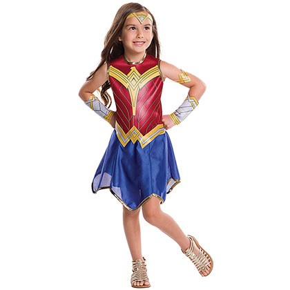 Wonder Woman Superhero Youth Costume