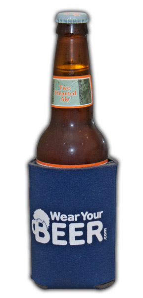 WearYourBeer Koozie - Navy Blue
