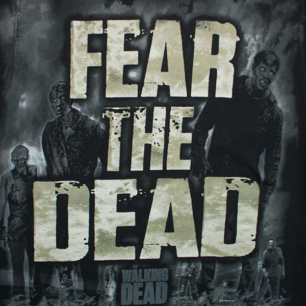 The Walking Dead Fear The Dead Black T-Shirt