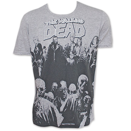 The Walking Dead Walkers Tee - Gray