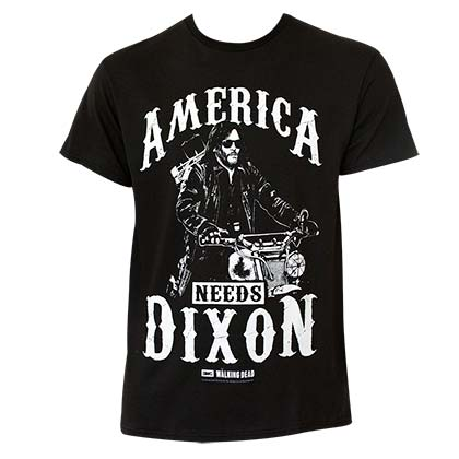 Walking Dead America Needs Dixon Tee Shirt