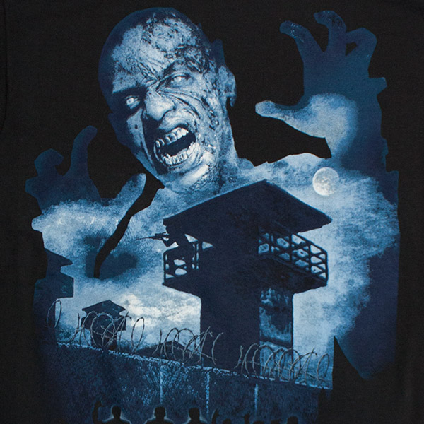 The Walking Dead The Prison Tee - Black