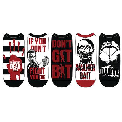 Walking Dead Women's 5 Pack Socks