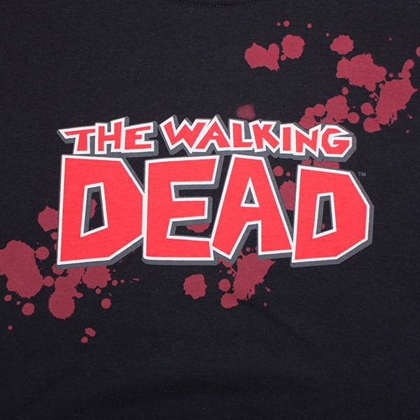 The Walking Dead Bloody Tee - Black