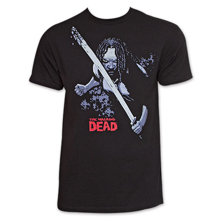 Michonne Walking Dead TShirt - Black