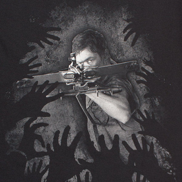 The Walking Dead Daryl's Crossbow Tee - Black