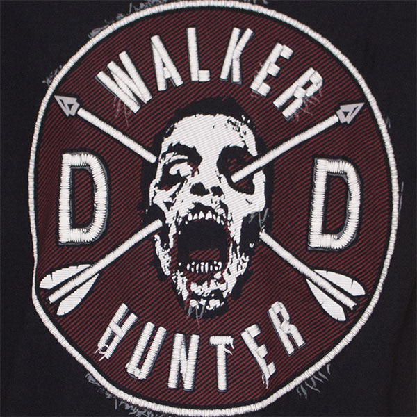 The Walking Dead Black Walker Hunter T-Shirt
