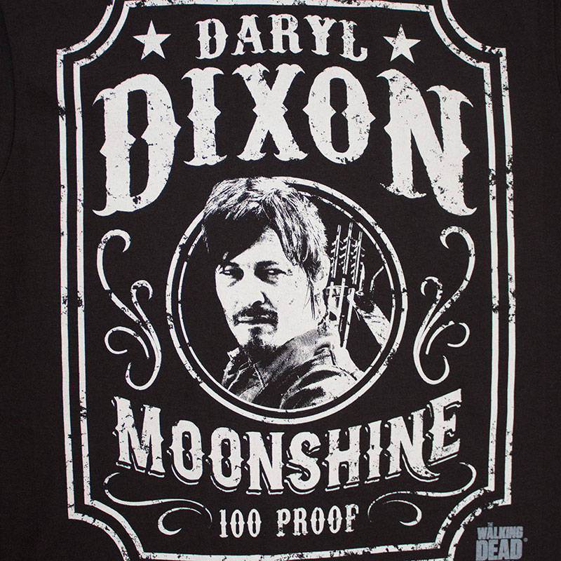 The Walking Dead Daryl Dixon Moonshine Tee Shirt