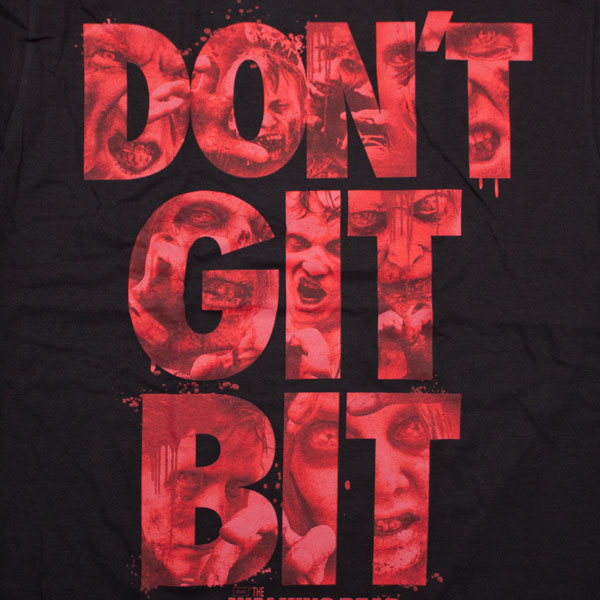 Walking Dead Don't Git Bit T-Shirt - Black