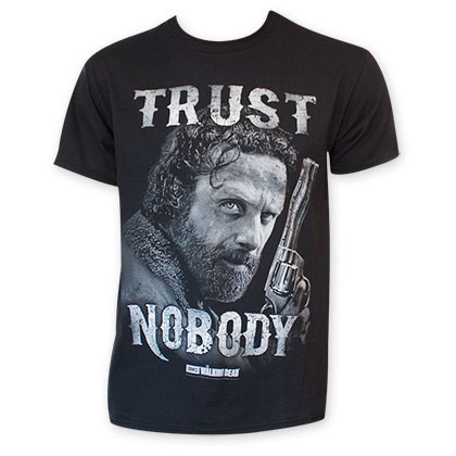 Walking Dead Trust Nobody Tee Shirt