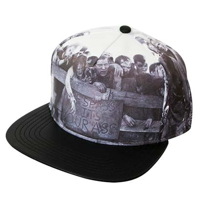 Walking Dead Printed Snapback Hat