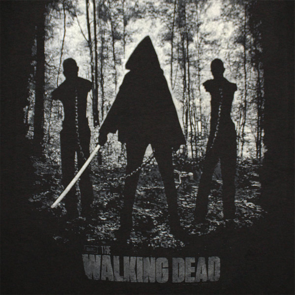Walking Dead Michonnen T Shirt - Black