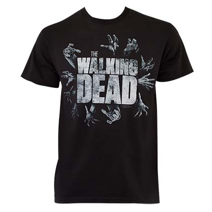 Walking Dead Hands Logo Tee Shirt