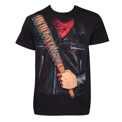 Walking Dead Men's Black Negan T-Shirt