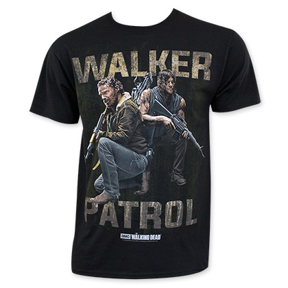 Walking Dead Walker Patrol Tee Shirt