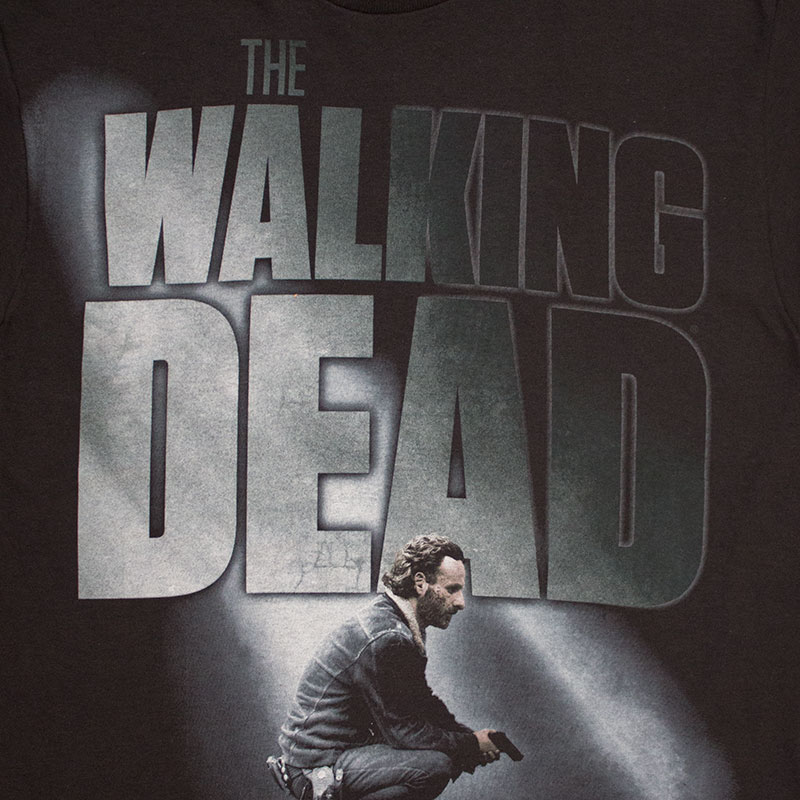 The Walking Dead Men's Black Kneeling Tee Shirt