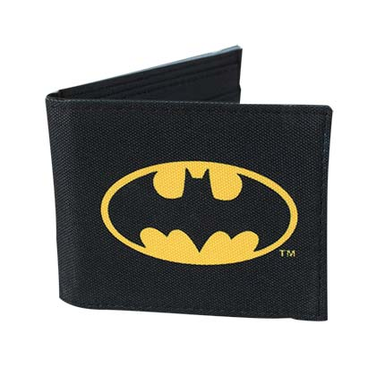 Batman Comic Logo Bifold Wallet