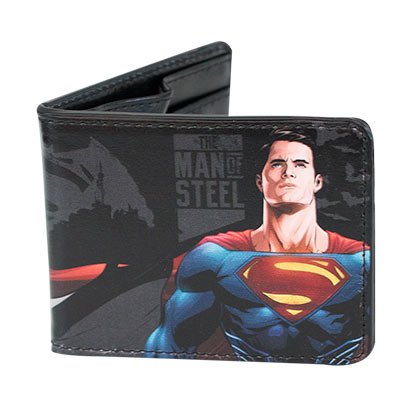 Batman V Superman Bifold Portraits Wallet