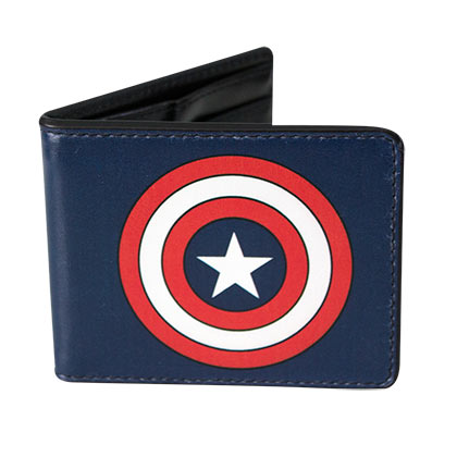 Captain America Comic Logo Wallet