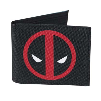 Deadpool Logo Comic Wallet