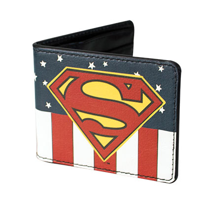Superman Comic USA Wallet