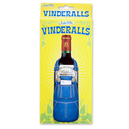 Novelty Wine Bottle Overalls