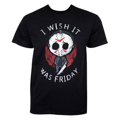 Friday The 13th I Wish It Was Friday Tee Shirt