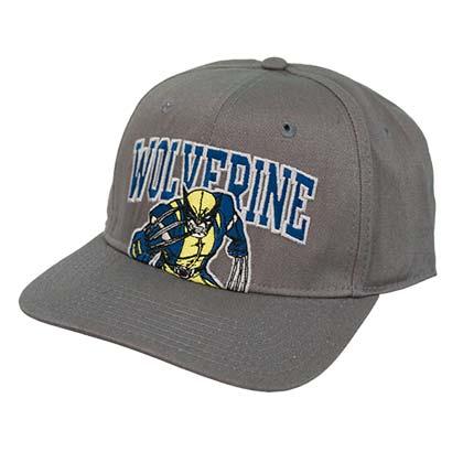Wolverine Logo Grey Hat