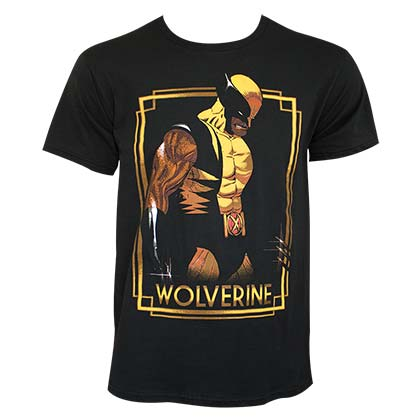 Wolverine Men's Black Portrait T-Shirt