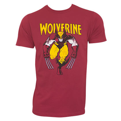 Wolverine Men's Red Stalking T-Shirt
