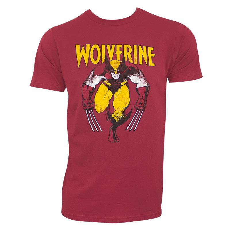 Wolverine Men's Red Stalking T-Shirt
