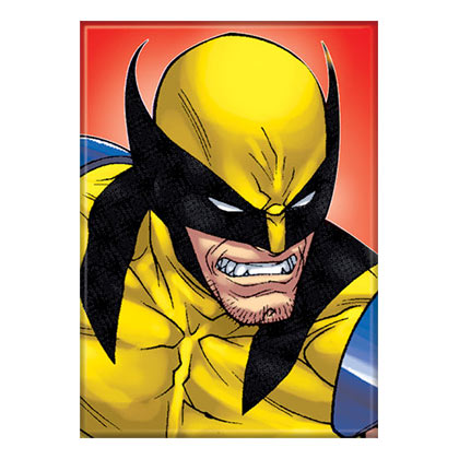 Wolverine Comic Magnet