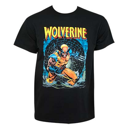 Wolverine Men's Black Knee Deep T-Shirt