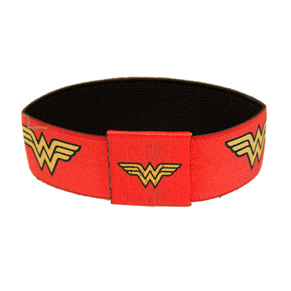 Wonder Woman Elastic Superhero Bracelet