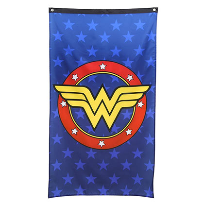 Wonder Woman Blue Wall Banner