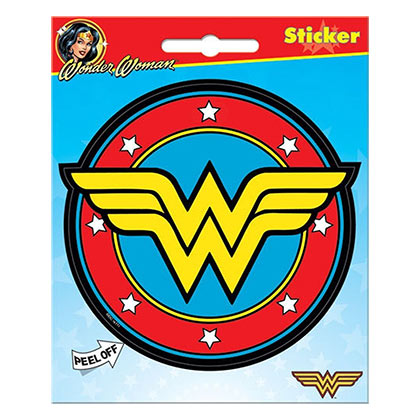 Wonder Woman Superhero Logo Sticker