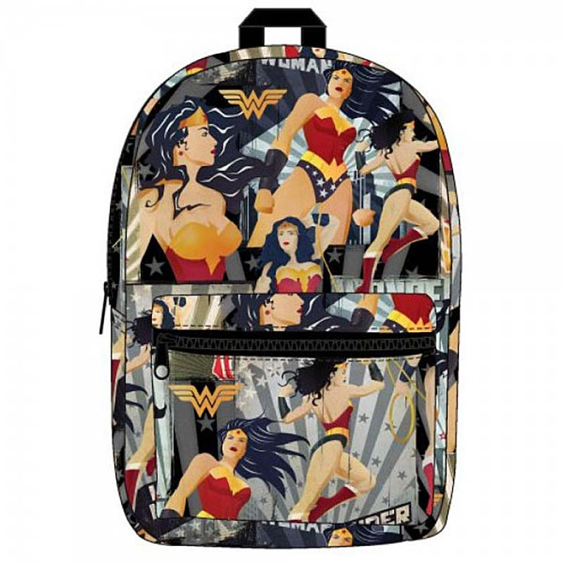 item was added to your cart. Item. Price. Wonder Woman Superhero Pose All  Over Print Backpack 3e141ebea4