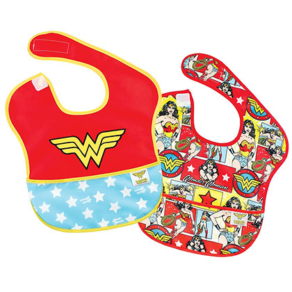 Wonder Woman Bib Two Pack