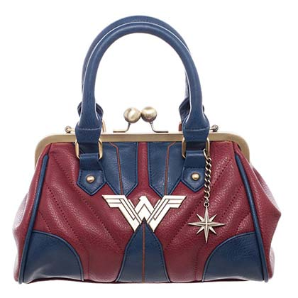 Wonder Woman Ladies Red Costume Inspired Handbag