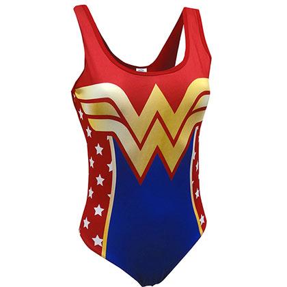 Wonder Woman One Piece Bodysuit
