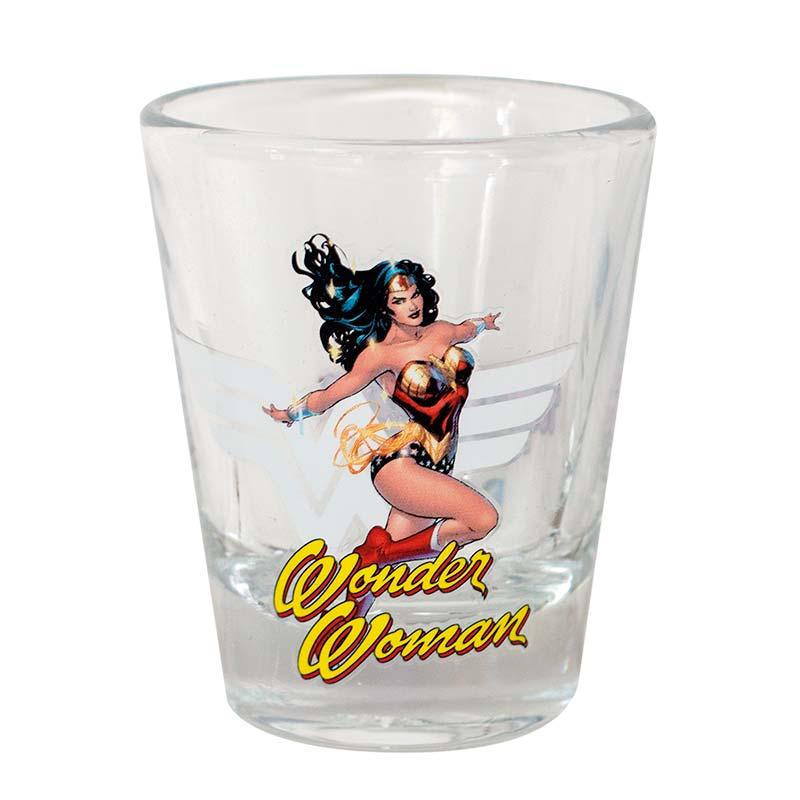 Wonder Woman Character Shot Glass