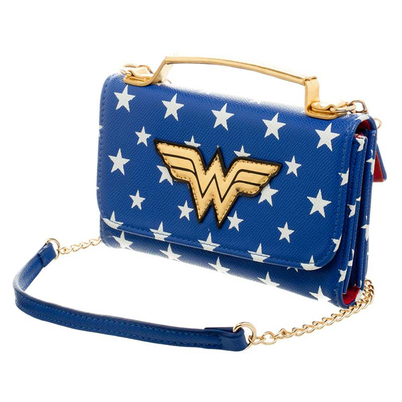Wonder Woman Women's Crossbody Clutch Purse