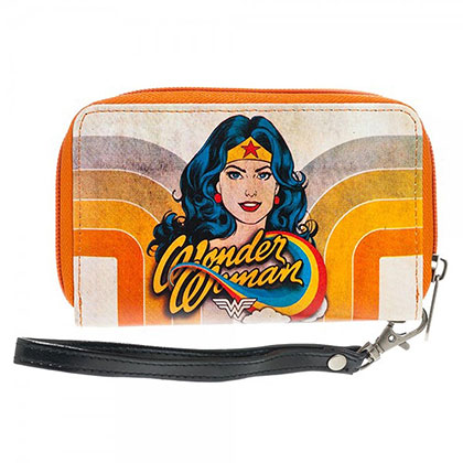 Wonder Woman Retro Women's Zip Around Wallet