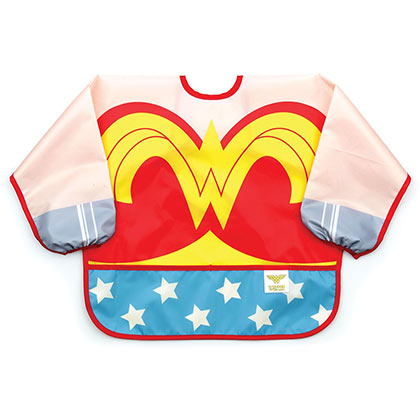 Wonder Woman Superhero Costume Sleeve Infant Bib