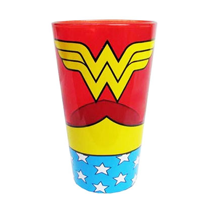 Wonder Woman Uniform Pint Glass