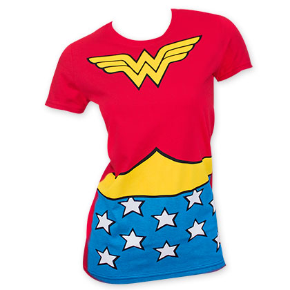 Wonder Woman Red Women's Suit Up T-Shirt